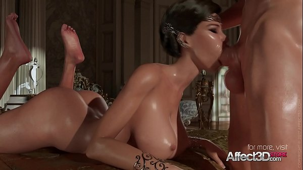 Princess oral and sexy blonde vampire anal fuck
