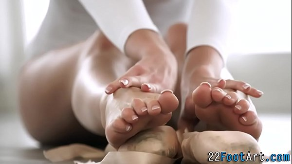 Babes lovely feet jizzed