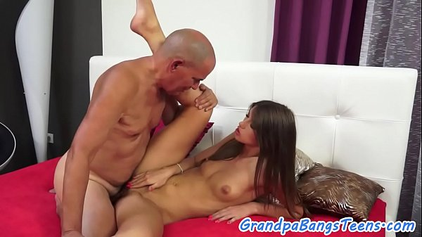 Young babe loves fucking in missionary pose