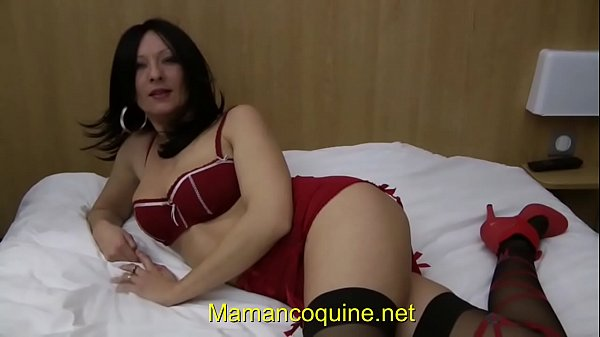 Nikita the brunette milf gets fucked by two wel...