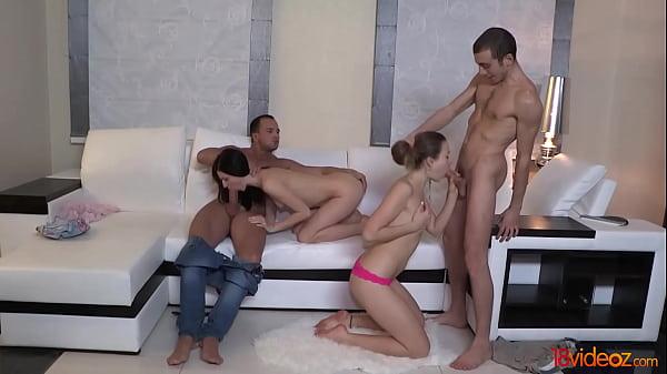 18videoz - Staying together to fuck Greta A, Taissia Shanti