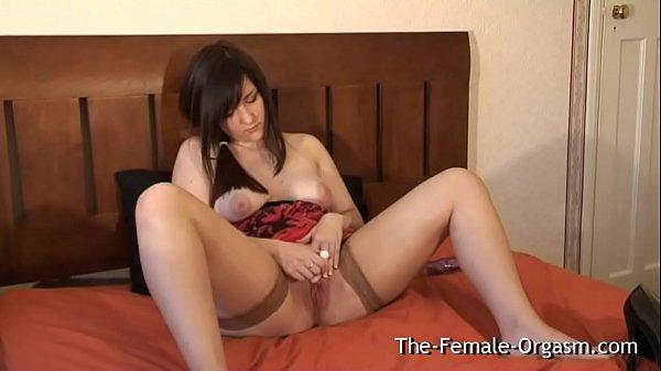 Girl Next Door Masturbates Her Fleshy Pussy to a Wet Orgasm