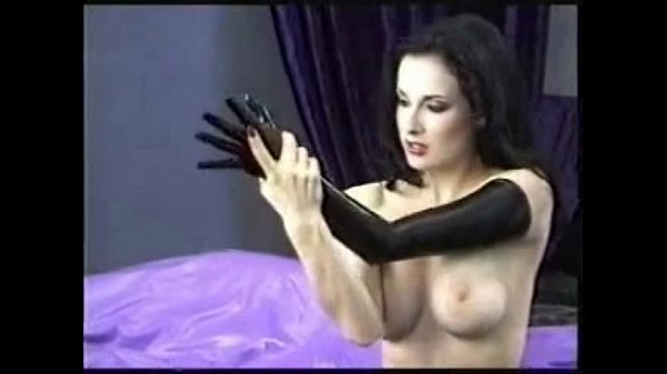 Dita von teese rubber fetish tease