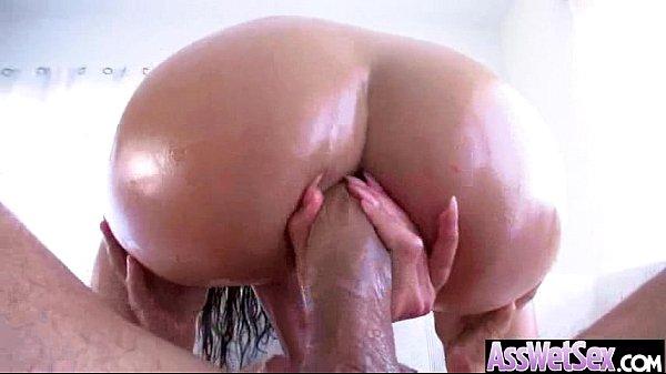 (rachael madori) Slut Girl With Big Wet Olied Butt Get Anal video-27