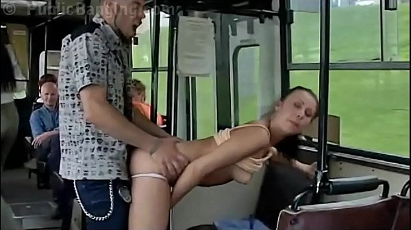 Crazy daring public bus sex action in front of ...