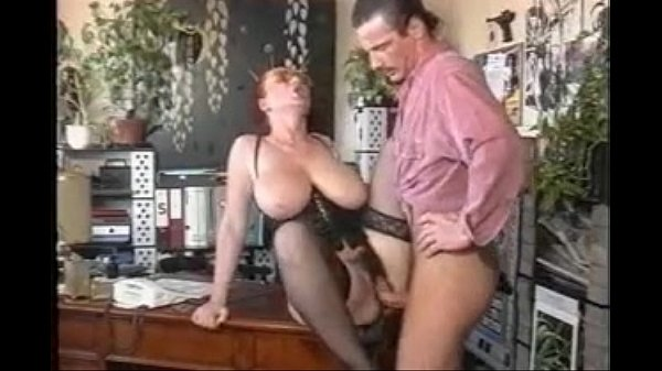 Big tited secretary and boss