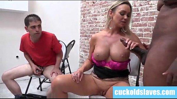 black bull ruining big tit blonde wifes holes