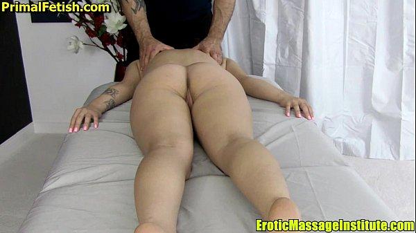 Hot Teen Massaged and Fucked