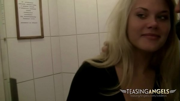 Naughty blonde flashes her ass in public while her boyfriend films Thumb