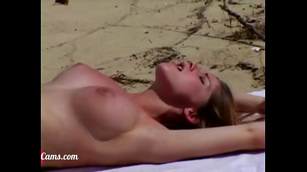 Teen sucking strangers cock at the beach I Watch her live at PlanetSexCams.com Beach