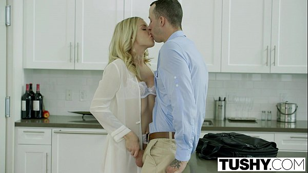 TUSHY Bosses Wife Karla Kush First Time Anal With the Office Assistant Thumb