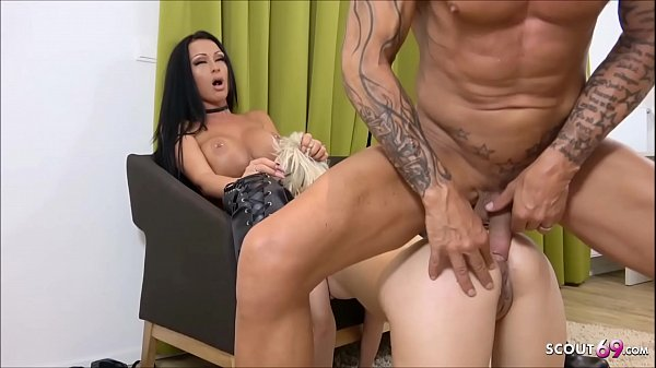 German Extrem Foursome - Rough DP Anal for MILF...