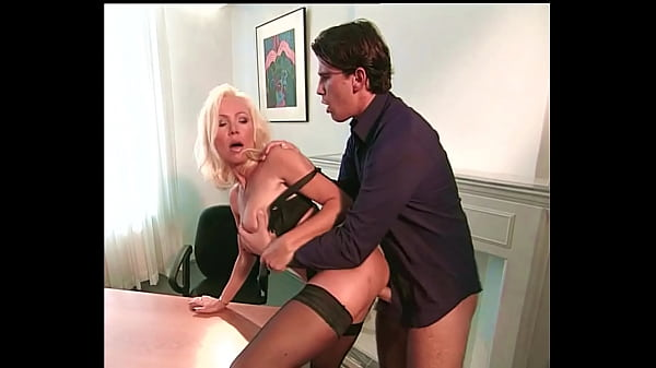 Teen Boy fucks Beautiful Bigtits Blonde MILF, Helen Duval