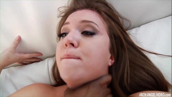 Black dude ass fucks a chick and cums on her face