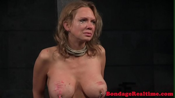NT tiedup submissive whipped by maledom