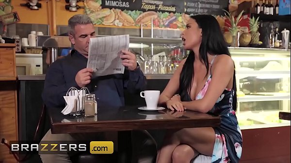 Horny Babe (Anissa Kate) Teases Her Husband At A Local Coffee Shop - Brazzers Thumb