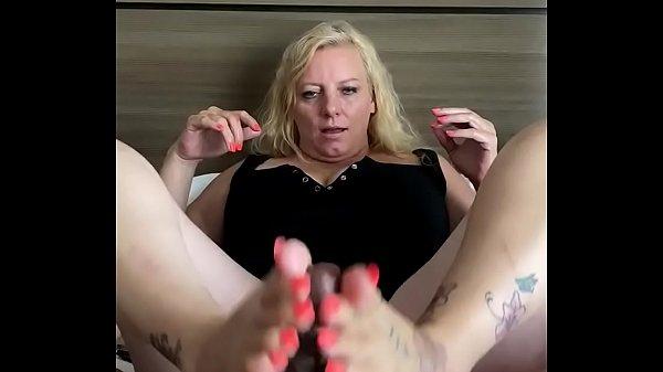 Rhonda milks my bbc before my long day (Big cum) Thumb