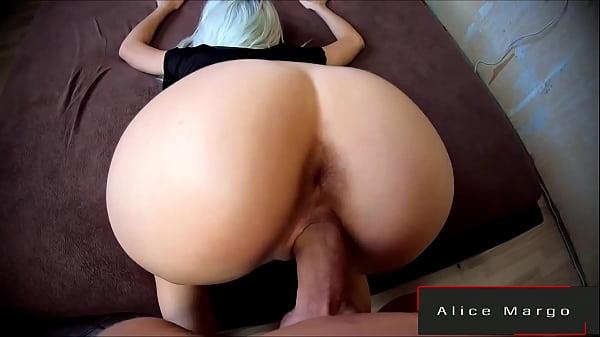 POV Doggy! Literally Fucking Her Round Butt! AliceMargo.com