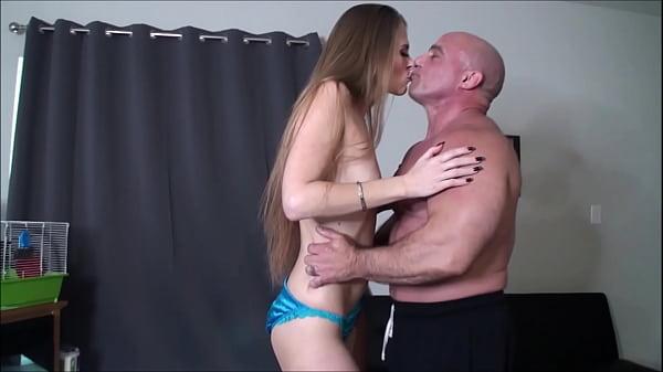 Shoulder press and pussy rub until orgasm