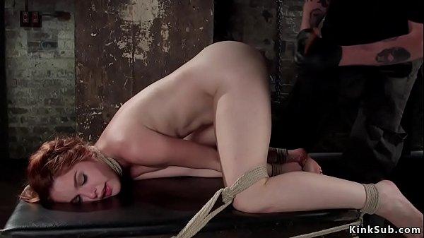 Spanish babe gets hot wax and vibrator Thumb
