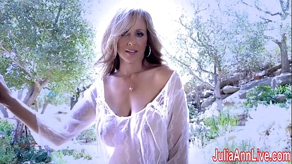 SuperStar Milf Julia Ann in Sheer!