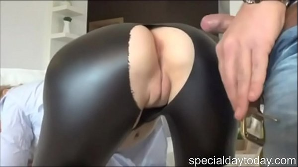 German Girl In Leggings Has Sex Thumb
