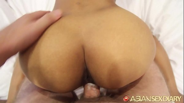 ASIANSEXDIARY Sexy Asian Teen Slides Big Dick In Creamy Pussy
