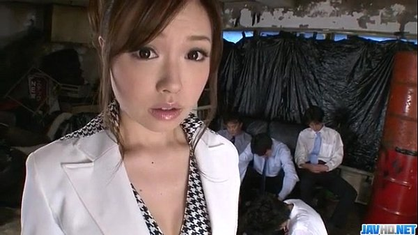 Aiko Hirose gets fucked by all her office colle...