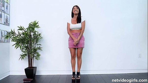 Chica folla en casting