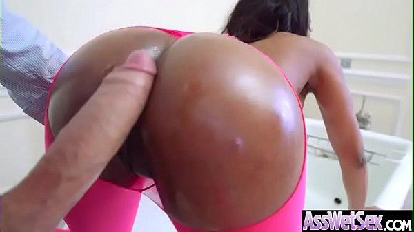 (Kiki Minaj) Horny Girl With Big Oiled Ass Get ...