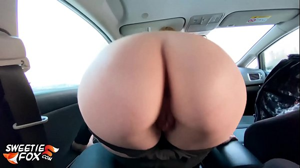Redhead Suck Dick Taxi Driver and Cum Swallow i...