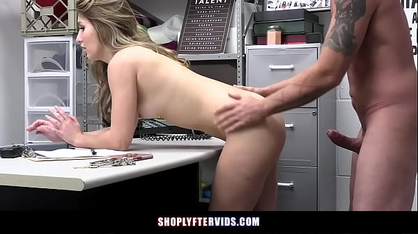 Naughty Teen Steals Jewelry From Store Gets Caught And Fucked