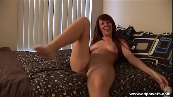 ED POWERS - Lizzy Tucker, a hot shaved pussy brunette
