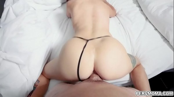 Stepson fucks her stepmom Jenna Jones from behind!