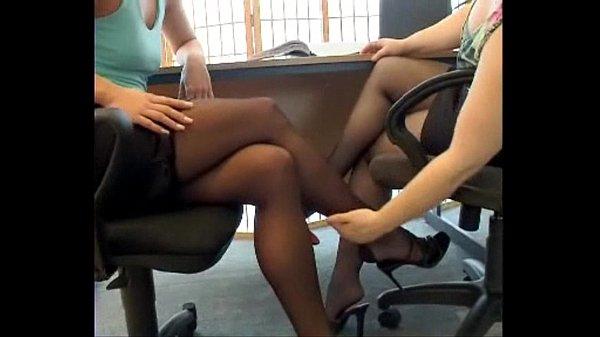 Secreteries Pantyhose Footsie