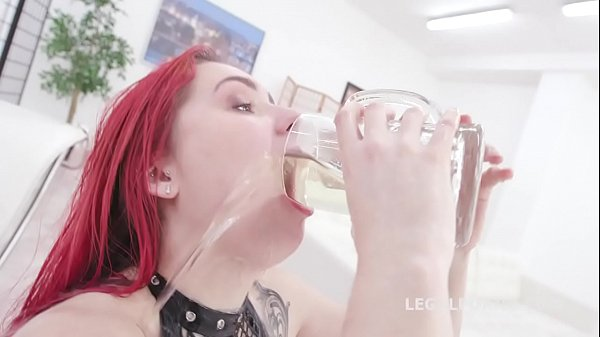 Fucking Wet Beer Festival with Stella Paint 4on1 Balls Deep DP, Pee d. and Swallow GIO1399