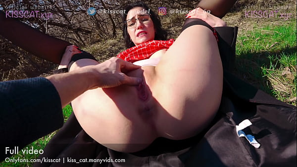 Let's walk in Nature - Public Agent PickUp Russian Student to Real Outdoor Fuck / Kiss cat 4k
