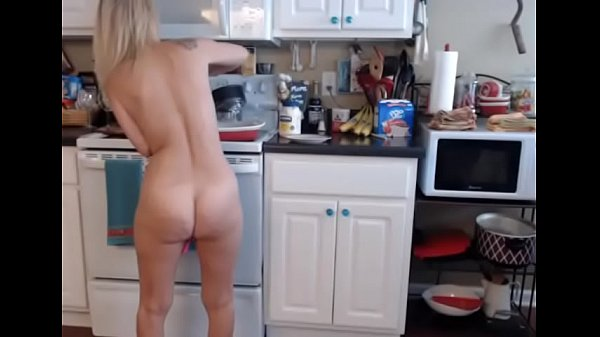Amazing Mature Blonde Cooks Nude In Her Kitchen Thumb