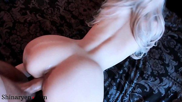 Blonde Big Ass Rough Doggy Sex and Cumshot POV