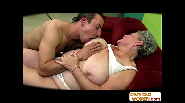 Fucking wrinkled chubby granny