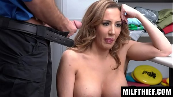 Officer Uses A Metal Detector To Discover Jewelry In Milf's Bra And Panties - Richelle Ryan