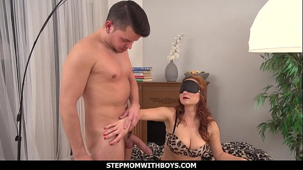 StepmomWithBoys - Surprise Young Cock For Ginger Hot Stepmom