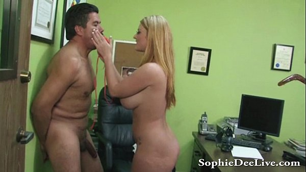 Sophie Dee Crushes Mexican Balls During BJ