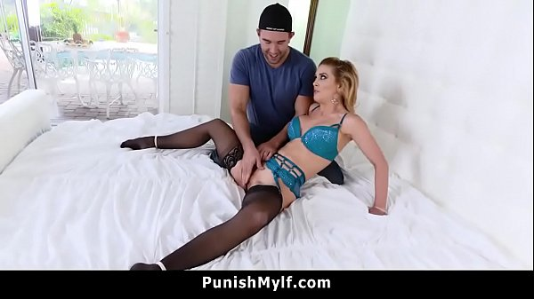Stepmom Caught Cheating and Punished By Her Step Son - Cherie Deville