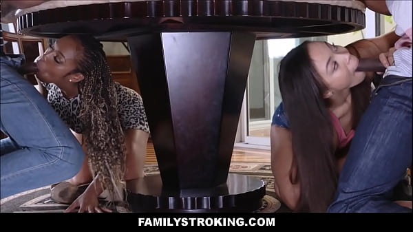 Black Family Orgy Fuck Fest Adriana Maya And Mi...
