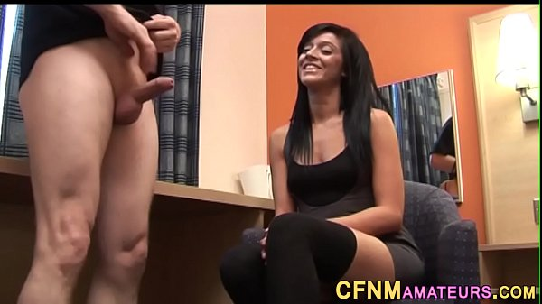 Cfnm amateur in stockings Thumb