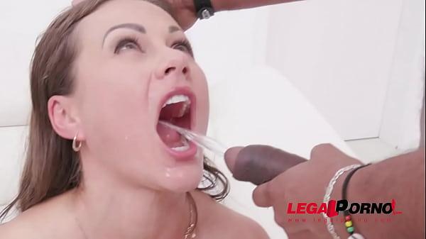 Asian Deepthroat Cum Swallow