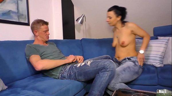 XXX OMAS  - Dirty mature German brunette Bonny Devil gets her twat stuffed full