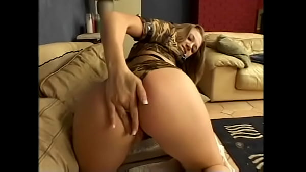 Horny babe rides hard on a dick as she gets ass banged on the couch