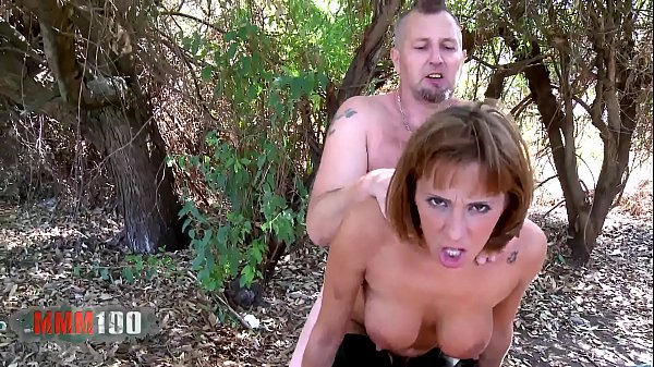 Hot spanish babe Mar Duran hard fucking and squirting in the woods